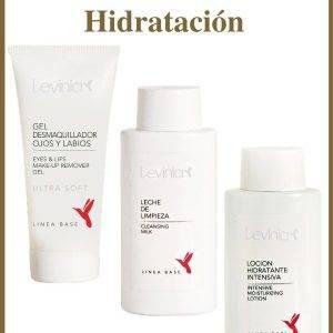 LEVINIA - Pack Limpieza Hidratación - Linea Base