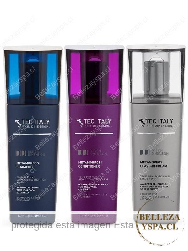 TEC ITALY - Pack Metamorfosi - Relajante para cabello crespo
