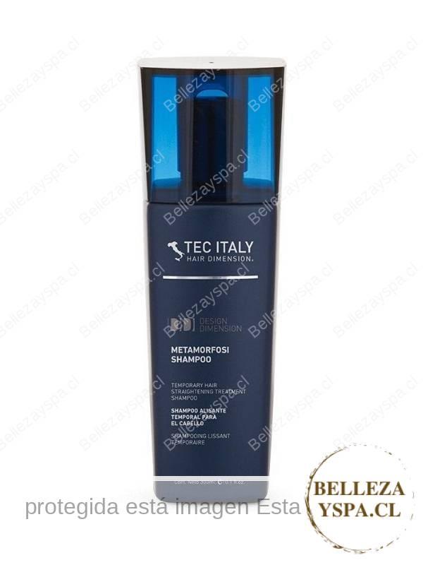 TEC ITALY - Shampoo Metamorfosi - Relajante temporal ideal para cabello crespo