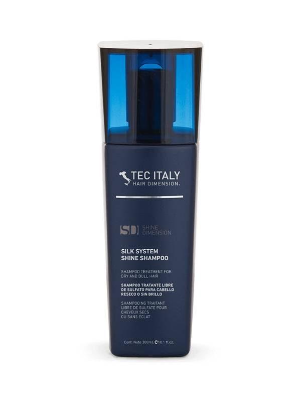 TEC ITALY - Shampooo Silk System Shine - Recupera cabello reseco y sin brillo