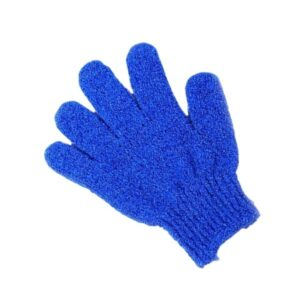 Guante Exfoliante corporal Azul - Bellezayspa.cl